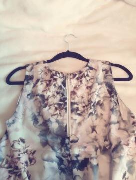 floral shirt back