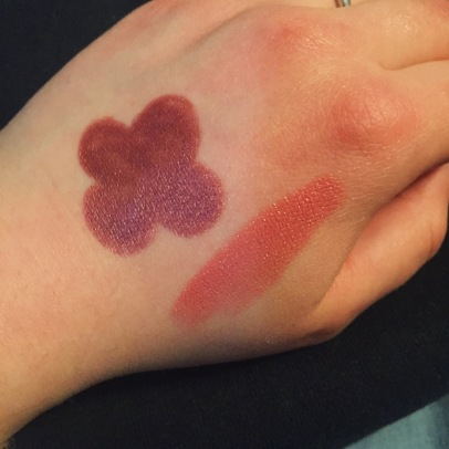 stila swatch lime crime swatch