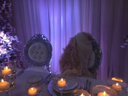 sweetheart table wedding chairs