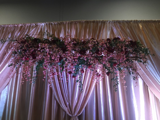 wedding decor ottawa pink floral