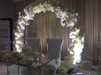 floral arch wedding ottawa